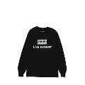 Live for ever 長袖T-shirt (Black)/Mサイズ