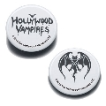 Hollywood Vampires Button Badges WHITE
