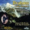 Brahms: Sonata for Cello & Piano No. 1 & 2, etc.