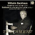 ヴィルヘルム・バックハウス/Mozart: Piano Sonatas No.10, No.12; Beethoven: Piano Sonatas No.26, No.14, No.32 [SBT1487]