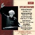 Symphonies - Stravinsky, Hindemith, Hartmann, etc