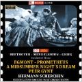 Beethoven: Egmont; Grieg: Peer Gynt; Mendelssohn: A Midsummer Night's Dream, etc