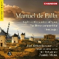 M.de Falla: Nights in the Gardens of Spain, Three-Cornered Hat, Homenajes CD