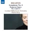ブラームス:交響曲 第4番/ハンガリー舞曲集より