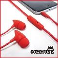 ALPEX マイクイヤフォン105 SMP-105 Red