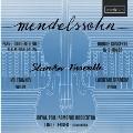メンデルスゾーン: ピアノ協奏曲第1番、ヴァイオリン、ピアノと弦楽のための協奏曲 ニ短調