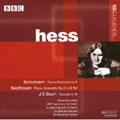 SCHUMANN:PIANO CONCERTO OP.54/BEETHOVEN:PIANO CONCERTO NO.2 OP.19/J.S.BACH:TOCCATA:MYRA HESS(p)/SIR MALCOLM SARGENT(cond)/BBC SYMPHONY ORCHESTRA/ETC
