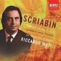 Scriabin: Symphony no 1, 2, 3, Promethee, etc / Muti, et al