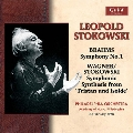 """Brahms: Symphony No.1; Wagner(Stokowski): Symphonic Synthesis from """"Tristan und Isolde"""""""
