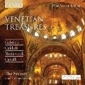 Venetian Treasures -A.Caldara, A.Gabrieli, C.Monteverdi. etc (10/1992) / Harry Christophers(cond), The Sixteen