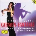 Carmen-Fantasie -Sarasate:Zigeunerweisen; Ravel:Tzigane; Faure:Berceuse, etc / Anne-Sophie Mutter(vn), James Levine(cond), Vienna Philharmonic Orchestra