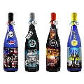 KISS「ロックレジェンズ酒シリーズ」ギフトボックス入り4本セット 第2弾