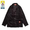 COOKMAN Lab.Jacket Corduroy Black BLACK Lサイズ