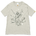 144 前野健太 NO MUSIC, NO LIFE. T-shirt (グリーン電力証書付) Sサイズ