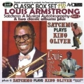 Satchmo: A Musical Autobiography - Part 2 (4th LP) & Two Classic Albums Plus (Satchmo Plays King Oliver/Louis And The Good Book)