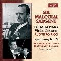 Tchaikovsky: Violin Concerto Op.35, Symphony No.5