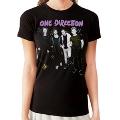 One Direction Backstage T-Shirt Black Ladys Sサイズ