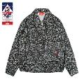 COOKMAN Delivery Jacket Paisley Black BLACK Mサイズ