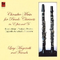 Chamber Music for Piccolo Clarinets in E flat and D