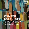 G.Kurtag: Jatekok-Games - Complete Works for Piano Duo and Selected Transcriptions