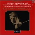 ブラームス: 交響曲第2番、ヴォーン=ウィリアムズ: 交響曲第6番