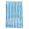 タワレコ 推し色ラッピング袋 Blue(ストライプ)