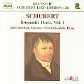 Schubert: Romantic Poets Vol.1 -Die Junge Nonne D.828, Die Liebe Hat Gelogen D.751, etc (5/5-8/2004) / Julia Borchert(S), Ulrich Eisenlohr(p)