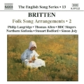 English Song Series Vol.13:Folksong Arrangements Vol.2:Philip Langridge