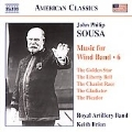 Sousa:Music for Wind Band Vol.6 -Easter Monday on the White House Lawn/The Golden Star/etc:Keith Brion(cond)/Royal Artillery Band