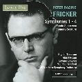 Peter Racine Fricker: Symphonies No. 1-4