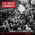 ザ・グレイト・カムバック~ホロヴィッツ・アット・カーネギー・ホール1965&1966<完全生産限定盤>