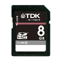 TDK SDHCカード 8GB Class4 (5年保証)