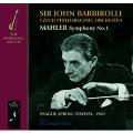 Mahler: Symphony No.1; Barbirolli: An Elizabethan Suite