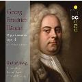 ヘンデル: オルガン協奏曲集 Op.4 (全6曲 サミュエル・ド・ランゲ編曲オルガン独奏版)