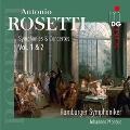 ロゼッティ: 交響曲ニ長調、オーボエと管弦楽のための協奏曲、他
