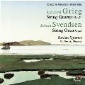 Grieg: String Quartet Op.27; J.Svendsen: String Octet Op.3