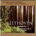 ベートーヴェン: 交響曲第5番、ピアノ協奏曲第4番