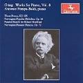 Grieg: Works for Piano Vol.8 - Three Pieces EG.105, Norwegian Popular Melodies Op.66, Norwegian Peasant Dances Op.72 / Antonio Pompa-Baldi(p)