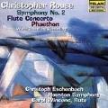 C.Rouse: Symphony No.2, Flute Concerto, Phaethon / Christoph Eschenbach(cond), Houston SO, Carol Wincenc(fl)