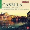 """Casella: Orchestral Works Vol.4 - Symphony No.1, Elegia Eroica, Symphonic Fragments from """"Le couvent sur l'eau"""""""
