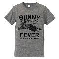 TOWER RECORDS × MADBUNNY NO FUJIROCK, NO LIFE! T-shirt グレイ Mサイズ