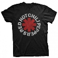 RED HOT CHILI PEPPERS / FADED ASTERISK BLACK T SHIRT T-shirt Lサイズ