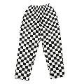 COOKMAN Chef Pants 02 Checker BLACK M