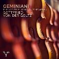 ジェミニアーニ: ヴァイオリン奏法論 Op.9、ソナタ第8番、第6番