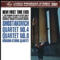 Shostakovich: String Quartets No.4, No.8