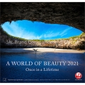 JAL「A WORLD OF BEAUTY」(普通判) カレンダー 2021