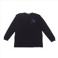 Girlside ロングスリーブ Tシャツ ブラック/Mサイズ