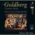 J.G.Goldberg: Chamber Music -Trio Sonatas, Quartet, Polonaise (2,11/1996) / Musica Alta Ripa