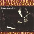Claudio Arrau at Tanglewood - All-Mozart Recital