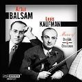 Music of Dvorak & Chausson -Dvorak:Piano Quartet Op.87/Chausson:Concerto Op.21/etc:Artur Balsam(p)/Louis Kaufman(vn)/etc
